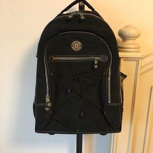Kipling Rolling Wheeled Luggage, Travel Bag
